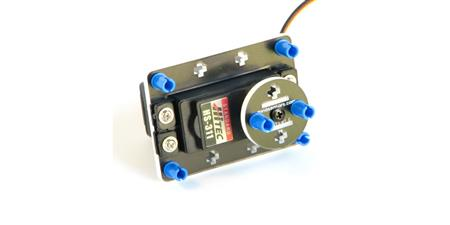 HS311 Continuous Rotation RC Servo with mounting for NXT